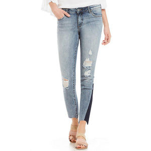 Kut From The Kloth Reese Shadow Hem Jeans NWT 8
